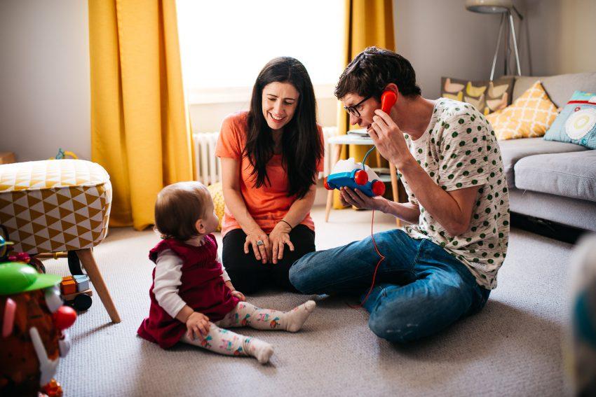 Matt, Karen & Flo